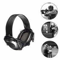 Anti Noise Ear Protector Electronic Fold Ear Protection Hearing Protection Earmuffs Workplace Safety Supplies