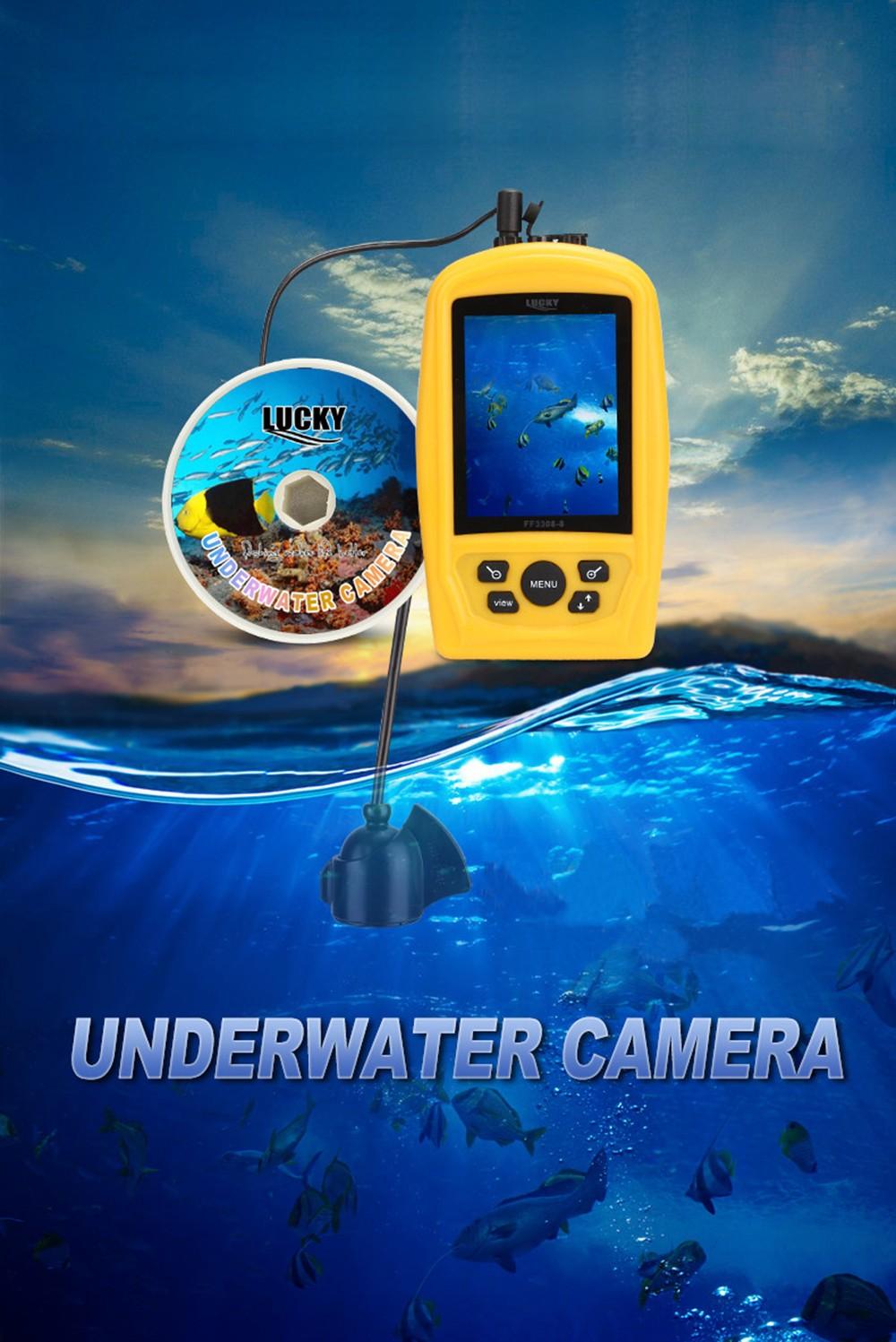 TFT водонепроницаемый датчик для рыбы фото