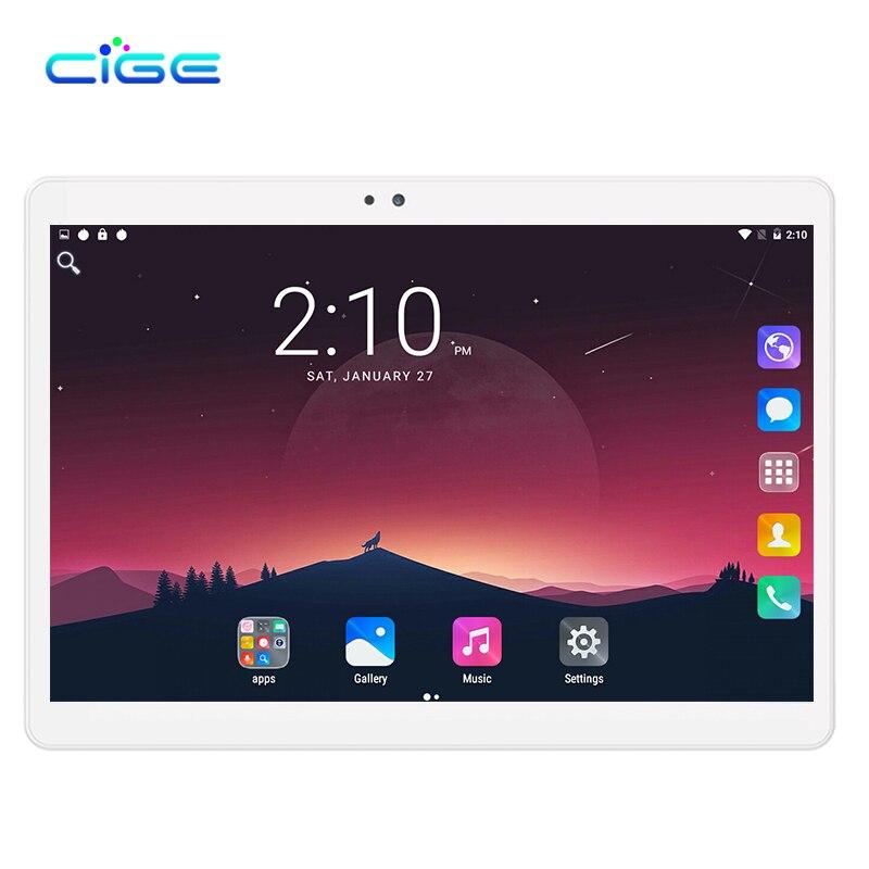 Livraison gratuite tablette intelligente PC Android tablette pc 10.1 pouces Android 7.0 10 Core tablette ordinateur Rom 32 GB/64 GB 1920x1200 WiFi GPS
