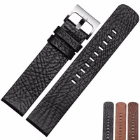 NP10 20 22mm Grain Strap Embossed Genuine Leather Watch Band Top Quality Genuine Leather Watch Strap For For Moto 2nd gen