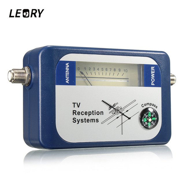 LEORY DVB-T TV Antenna Finder Digital Aerial Terrestrial Signal Strength Meter Pointer Satellite TV Receiver