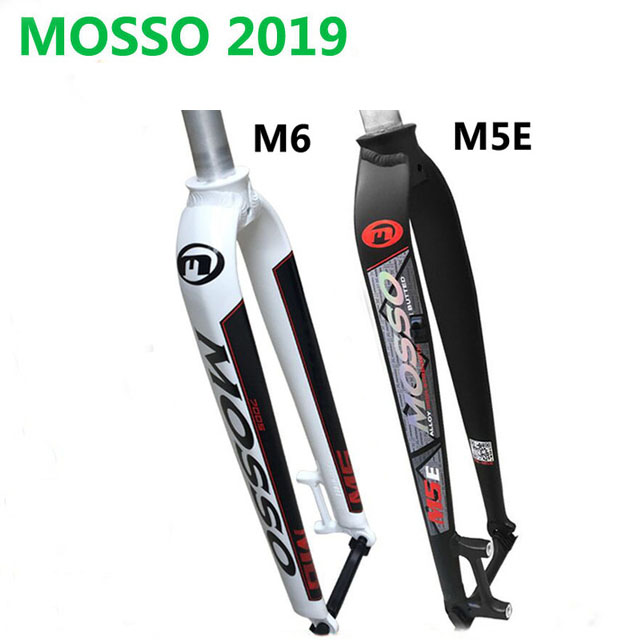 Mosso M6 M5E M5E Road MTB Mountain for disc and V brake Fork 26 27.5 29 bicycle For hard fork upgrade from FK26-MD2 MD5 HOTMosso M6 M5E M5E Road MTB Mountain for disc and V brake Fork 26 27.5 29 bicycle For hard fork upgrade from FK26-MD2 MD5 HOT