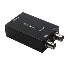 Adaptateur Ethernet, 55 ohm BNC à 120ohm RJ45, g703 Balum, efficace et rapide