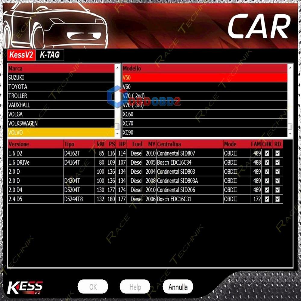 Online Ksuite V2 47 SW For 5 017 KESS V2 V5 017 Add More