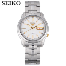 SEIKO watch shield No. 5 automatic luminous Stainless Steel Mens Watch SNKL84K1