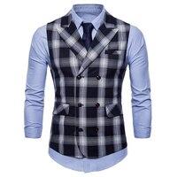Business Mens Dress Suit Vests Coats Summer Style Fashion Men Official Vest Coat Outwear European Mens Brand Clothing 2018 S3182
