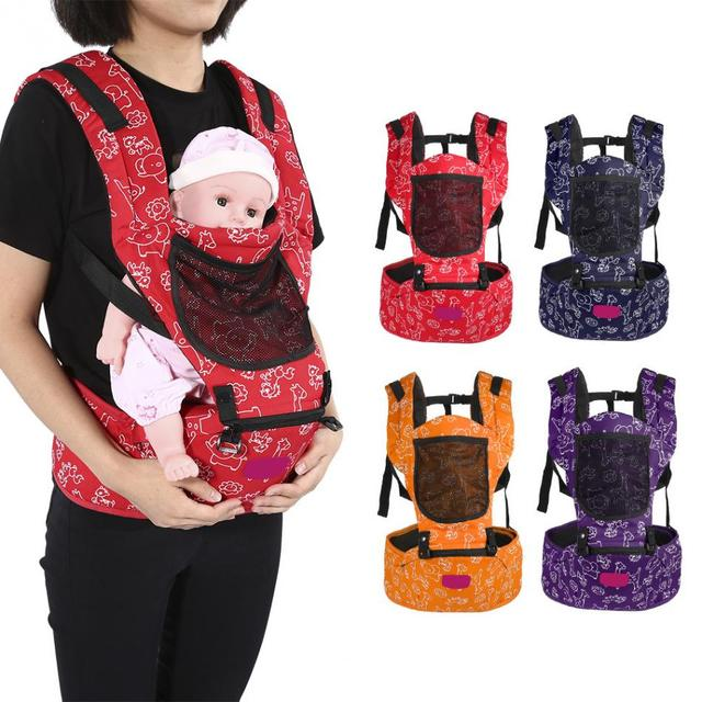 Newborn Infant Baby Carrier Baby Wrap Sling Hip Seat Toddler