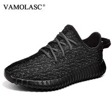 VAMOLASC New Men's Running Shoes Breathable Sneakers Mesh Cushioning Medium Cut Athletic Shoes Sports Shoes R0002