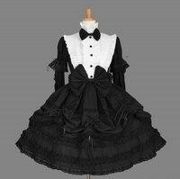 LL16 Long Sleeveless Sweet Lolita Short Dress Ball Gown Fancy Prom Dress Halloween Party Masquerade Costume