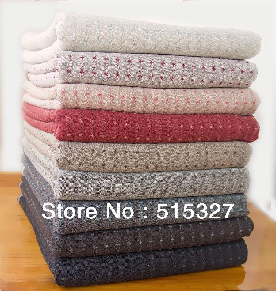 Japanese Quilting Patchwork Yarn dye Cotton Fabrics By Daiwabo ... : quilting with yarn - Adamdwight.com