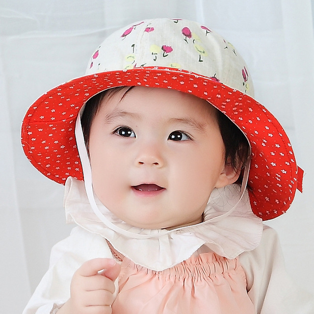 2017 Fashion Bow Knot Topee Baby Bucket Hats Cotton Autumn Warm Toddler  Baby Girl Kids Topi Winter Cap Boy Girl Hats 3d2ba19e10