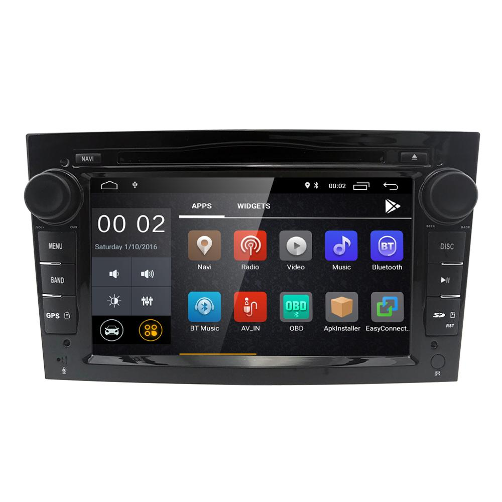 Ossuret Android 9.0 1024*600 Quad Core 2din Car DVD Player For Opel Corsa Vectra C D Meriva Vivaro Tigra Signum Radio GPS Navi