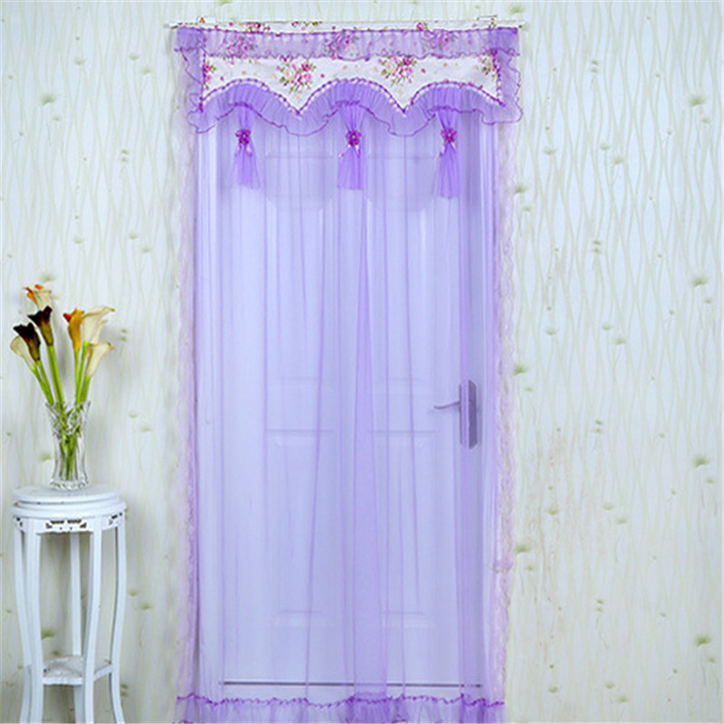 Kitchen Partition Curtains: Anti Mosquito Curtains Lace Feng Shui Shade Partition