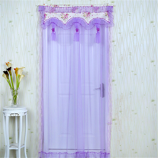 Anti Mosquito Curtains Lace Feng Shui Shade Partition Kitchen Summer