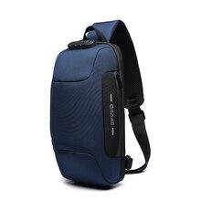 Мужская Уличная сумка на плечо, водостойкая ткань Оксфорд, нагрудная сумка, модная сумка на грудь, городской рюкзак для прогулок