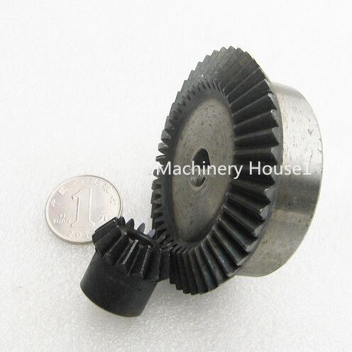 Bevel Gear 15Teeth 45Teeth ratio 1:3 Mod 2, 45# Steel Right Angle Transmission parts DIY Robot competition M=2 bevel gear 15teeth 45teeth ratio 1 3 mod 2 45 steel right angle transmission parts diy robot competition m 2
