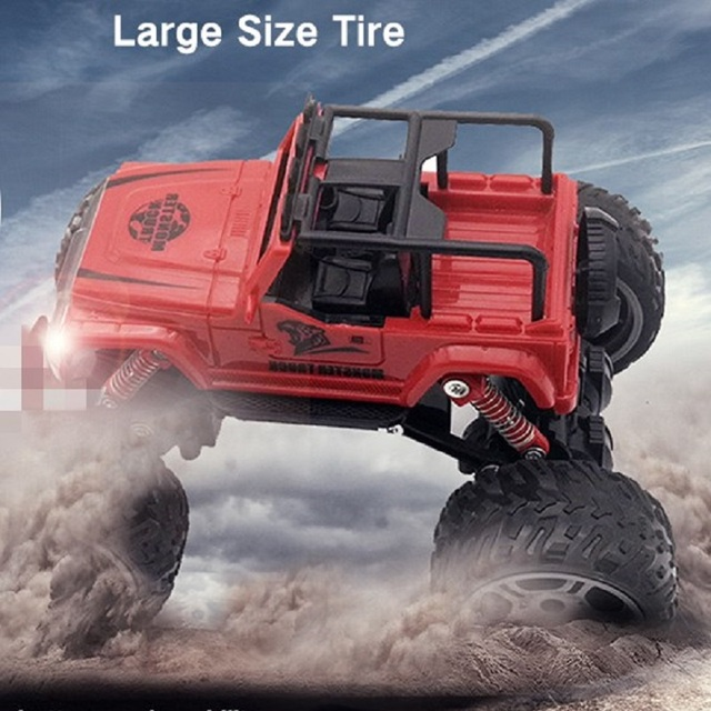 Rb627 2wd Rc Car 25 Mins Running Time Electric Crawler Large Tires Toy 2 4g Radio Control Sd Off Road Cars For Kids Gift