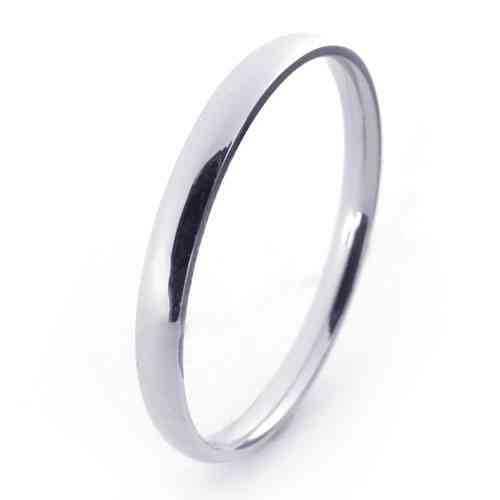 Fashion Women Men Jewelry Stainless Titanium Steel Rings 2mm Wide Narrow Mirror Polish Circle  Wedding Engagement Rings 21272
