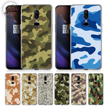 Fashion Camouflage army For Case Oneplus 6 Cover Soft Silicone Cases for One plus 5T 5 1+6 6T Capa