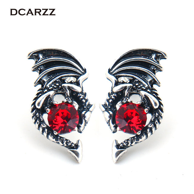 US $39.0 |Game of Thrones Earrings the Crystals Dragon Stud Earrings for  Woman Daenerys Targaryen Cosplay TV/Movie Jewelry-in Stud Earrings from ...