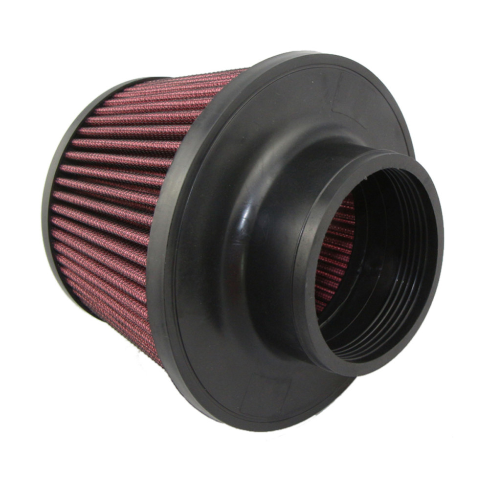 "Universal Kits Auto car Intake Air Filter Air Filter 3"" 76mmr High Flow Cone Cold Air Intake Performance Red 12"