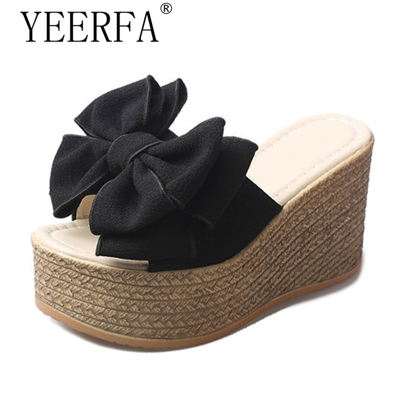 New Summer Women Slippers Summer Ladies Slippers For Family Butterfly-knot Women Shoes Antiskid Female Sandals Women бусы из раухтопаза цитрина агата и жемчуга женева