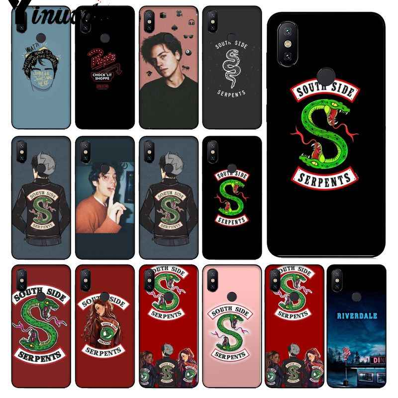 Yinuoda Riverdale South Side Serpents Silicone Phone Case Cover for Apple iPhone 8 7 6 6S Plus X XS MAX 5 5S SE XR Cellphones