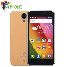Original Kingzone S2 Mobile phone 4.5 inch 3G Android 6.0 MTK6580 Quad Core 1G RAM 8G ROM Smartphone 5.0MP Camera Cellphone