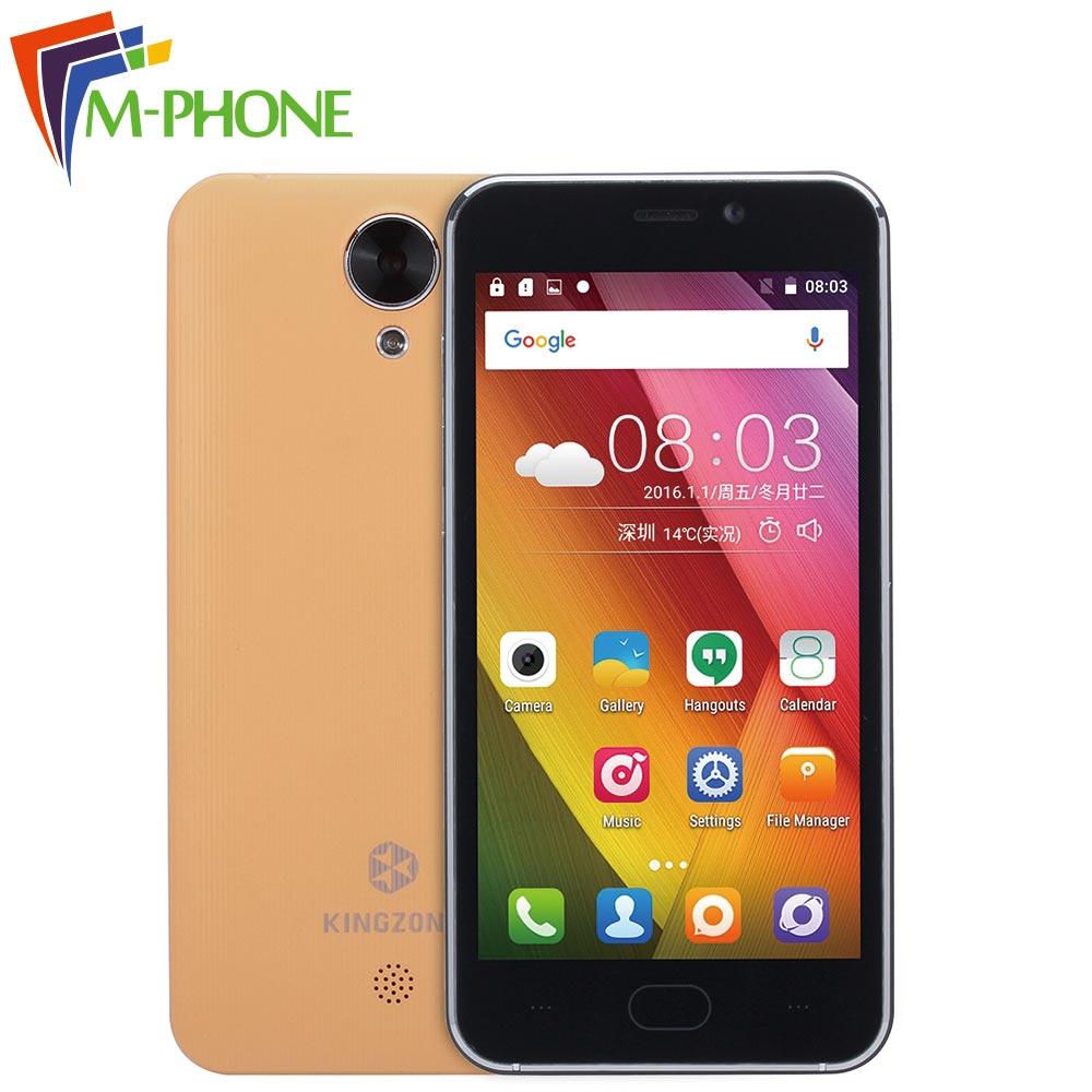 bilder für Ursprünglicher Kingzone S2 handy 4,5 zoll 3G Android 6.0 MTK6580 Quad Core 1G RAM 8G ROM Smartphone 5.0MP Kamera handy