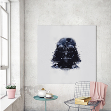 Здесь можно купить  WANGART  Decorative Pictures Modern Wall Darth Vader Art Star Wars Portrait Canvas Painting for Living Room Unframed Home Decor  Home Decor