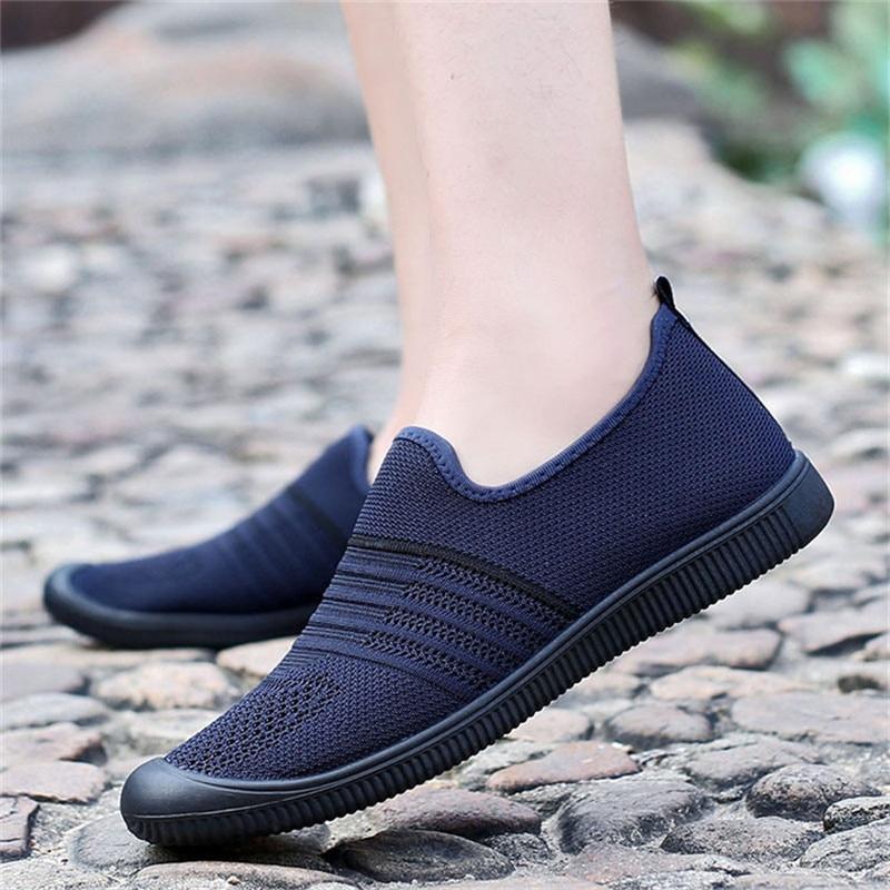 Verano Zapatos 2018 Transpirable Nuevos blue Hombres Casual gray Deslizamiento Black De En Los Cómodos wZFXaqX