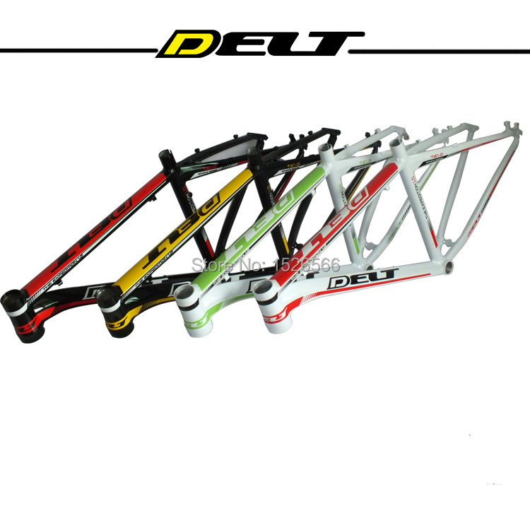 MTB Mountain bike Bicycle frame 26 * 17 inch AL6069 for bike headset 44*55mm glossy 26 inch 7 21 27speed cross country mountain bike aluminum frame snow beach 4 0 oversized bicycle tire dirt bikes for men