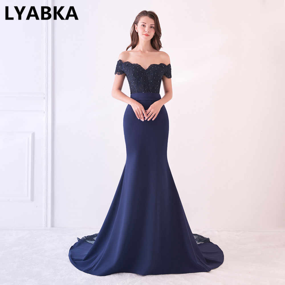 fa841a081b76cf Sexy Sweetheart Prom Dresses Vestido De Festa Short Sleeve Appliques Beads  Prom Dress Mermaid Party Gowns