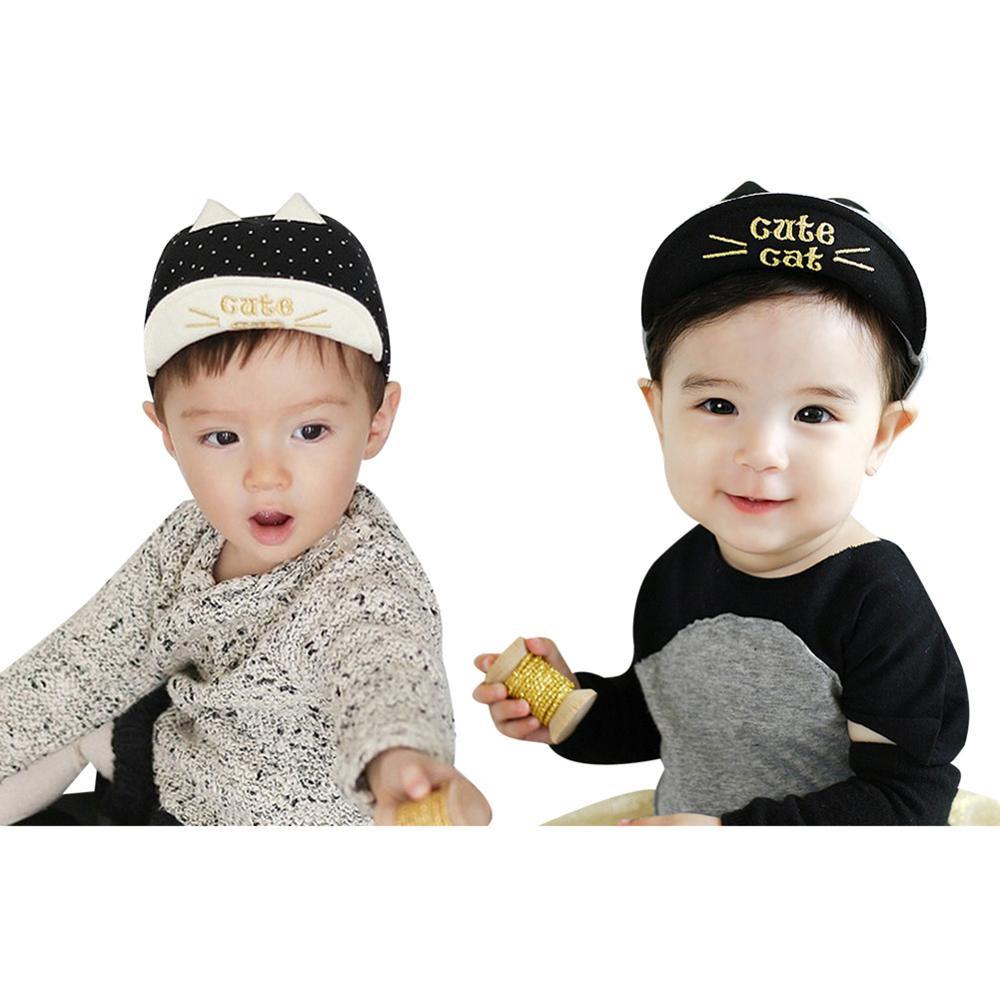 ④Primavera sombrero del bebé sombreros del bebé del verano gorra de ...