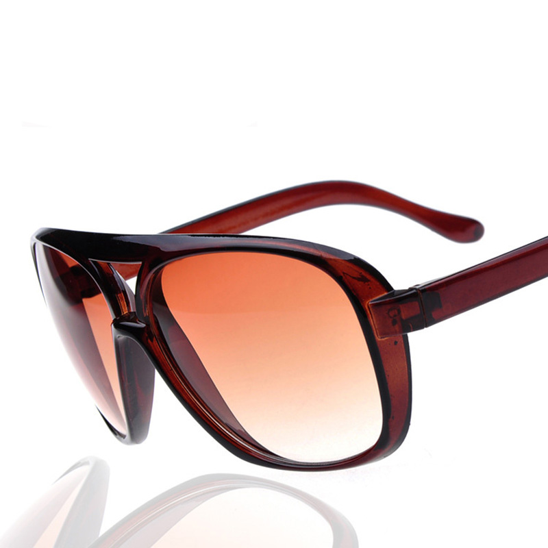 239884b7f6d New 2017 Woman Fashion Double Girder Sunglasses Ladies All Match Frog  Mirror High Quality Women Name Brand Sunglasses on Aliexpress.com