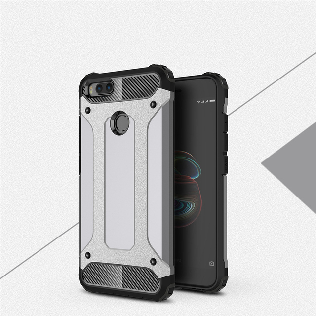 buy online ca2ec 9613c US $3.79 |For Xiaomi Mi A1 5X MiA1 Tough Armor Case Hybrid Extremely Heavy  Duty Full Protection Air Cushion Shockproof Fashion Phone Cover-in Phone ...