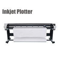 1PC Ink Jet Plotter 1800MM Clothing CAD Inkjet Machine Sample Printer With Drawing Speed 80m2 H