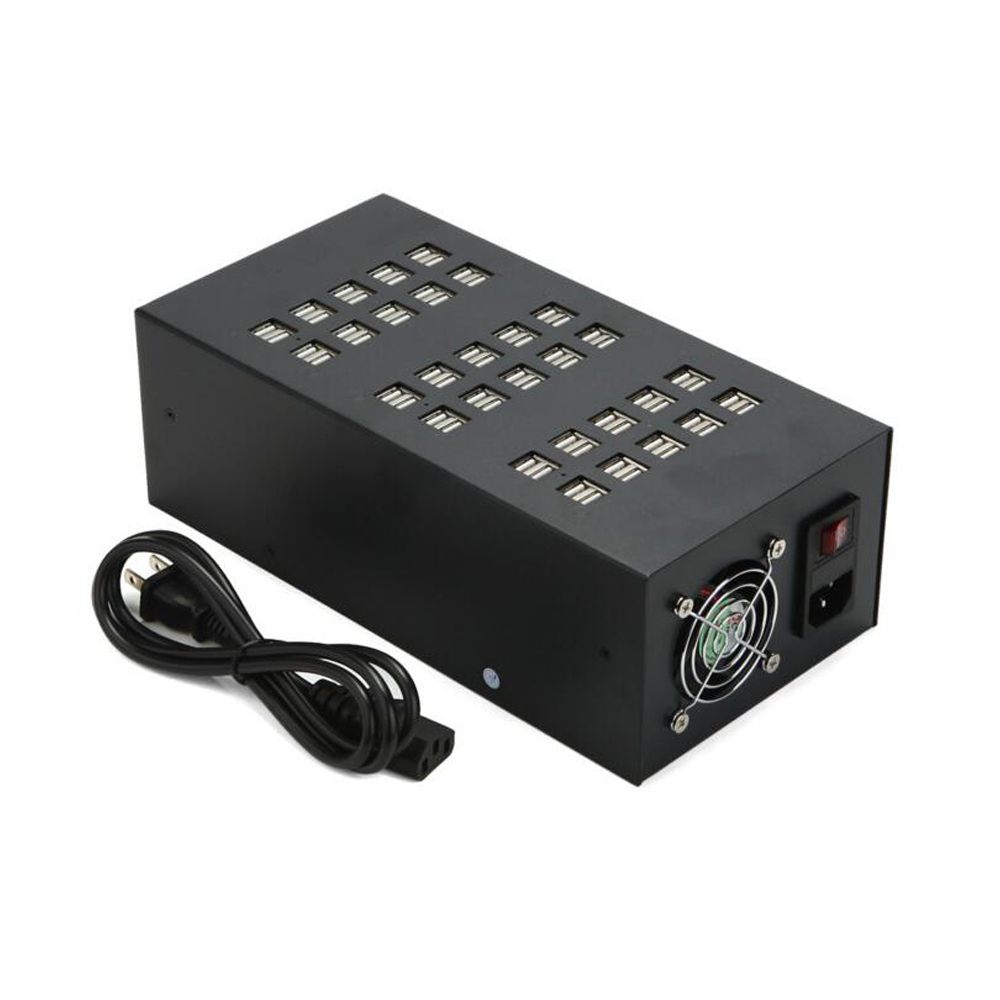 60 Ports 300W 60A High Power Multi Port Universal USB Auto Charging Station Adapter USB Charger