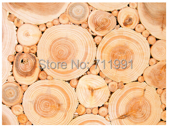 Free Shipping Custom 3D Wood Texture Wall Mural Modern Wallpaper TV Bedroom Sofa Background In Wallpapers From Home Improvement On