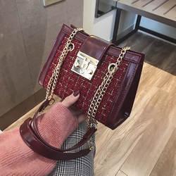 Новая классическая сумка на ремне, сумки с узором «гусиные лапки», маленькие сумки через плечо известного бренда, стеганые шерстяные