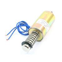 High quality 16mm/500g Pull Type Plunger Spring Return Tubular Solenoid Electromagnet 24V Free shipping
