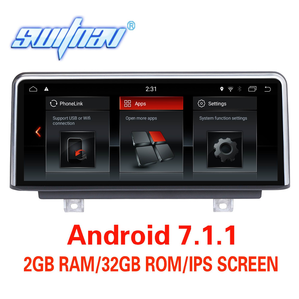 Android 7 1 FOR BMW 1 Series F20 F21 2 Series F23 Cabrio 3 Series F30