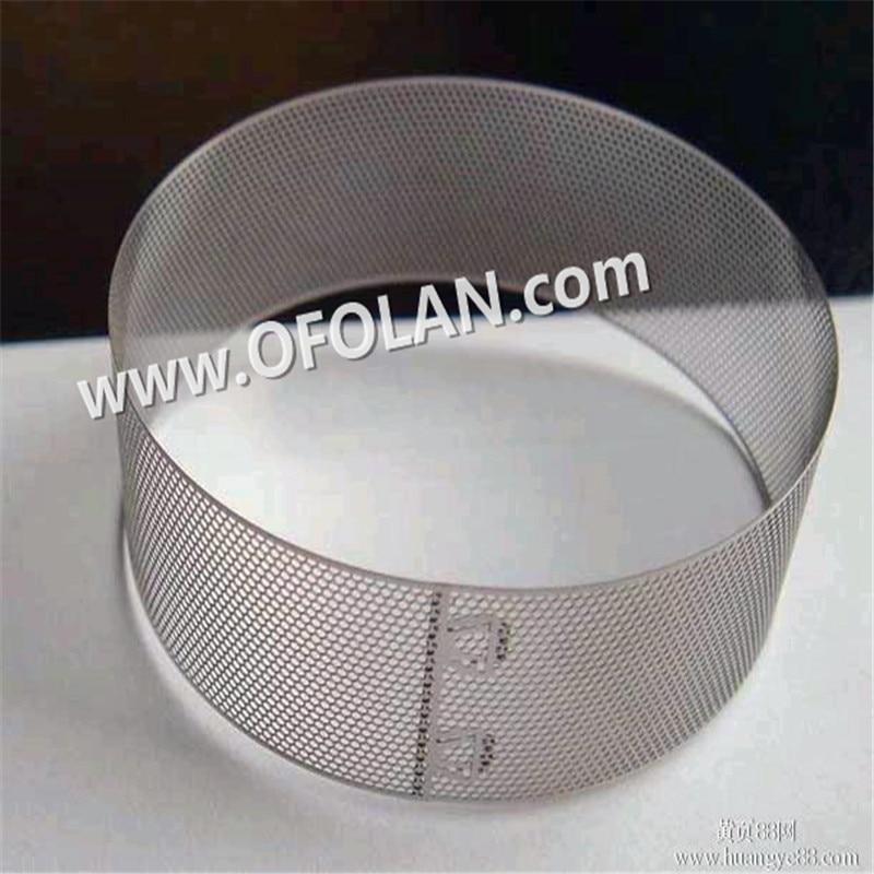 0.5mm Round Hol Punching Mesh Titanium Sheet Punching Filter Mesh Hotting Sales 500mm*1000mm
