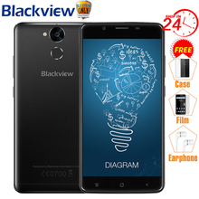 Blackview P2 Mobile Phone 6000mAh Fingerprint ID MTK6750T Octa Core 5.5″ 1080P 13MP Camera Metal Body 9V2A Quick Charge