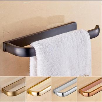 Toallero de bronce antiguo en 5 colores, toallero de latón macizo, estante de almacenamiento, toallero, accesorios de baño, toallero