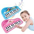 Padrão dos desenhos animados órgão Eletrônico Teclado musical brinquedos do instrumento jogo de aprendizagem