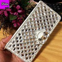 For Xiaomi 4i Case Cover Wallet Flip Leather Bag For Xiaomi Mi 4i Case Luxury Diamond