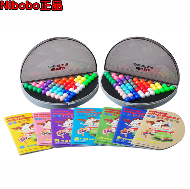 Nibobo pyramid beads educational toys boxed 2 7 538 5 . 5