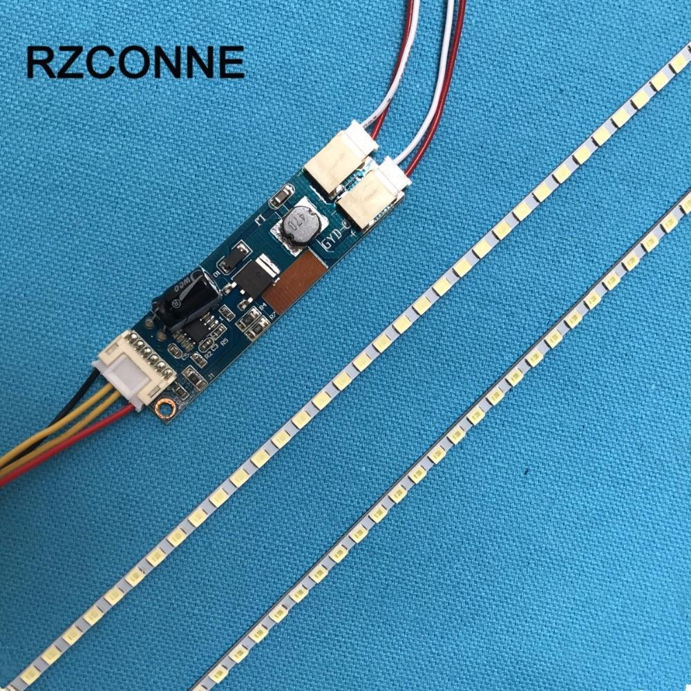 455 мм LED Подсветка лампы Газа комплект Регулируемая яркость Обновите 20.1 шириной 20 дюймов CCFL ЖК-дисплей Экран к LED ...