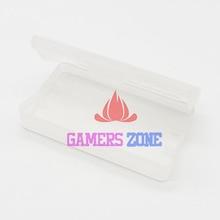 50pcs ล้างพลาสติกตลับหมึกสำหรับ GBA GBA SP GBM เกมกล่องครอบคลุมฝุ่น